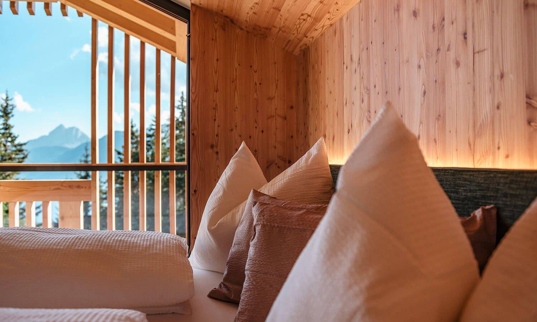 "Doppelzimmer ""Peitlerkofel"" - Oberhauserhütte Südtirol"