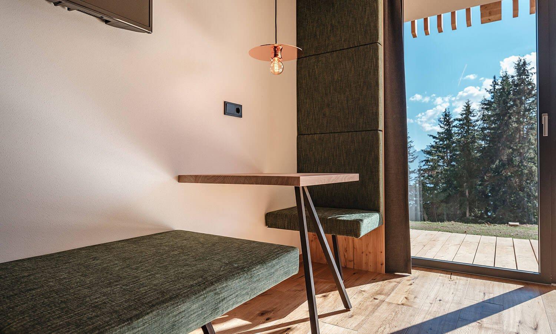 "Camera doppia ""Rodenecker Alm"" | Oberhauserhütte in Alto Adige"