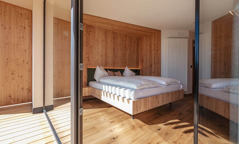 "Doppelzimmer ""Rodenecker Alm"" - Oberhauserhütte Südtirol"