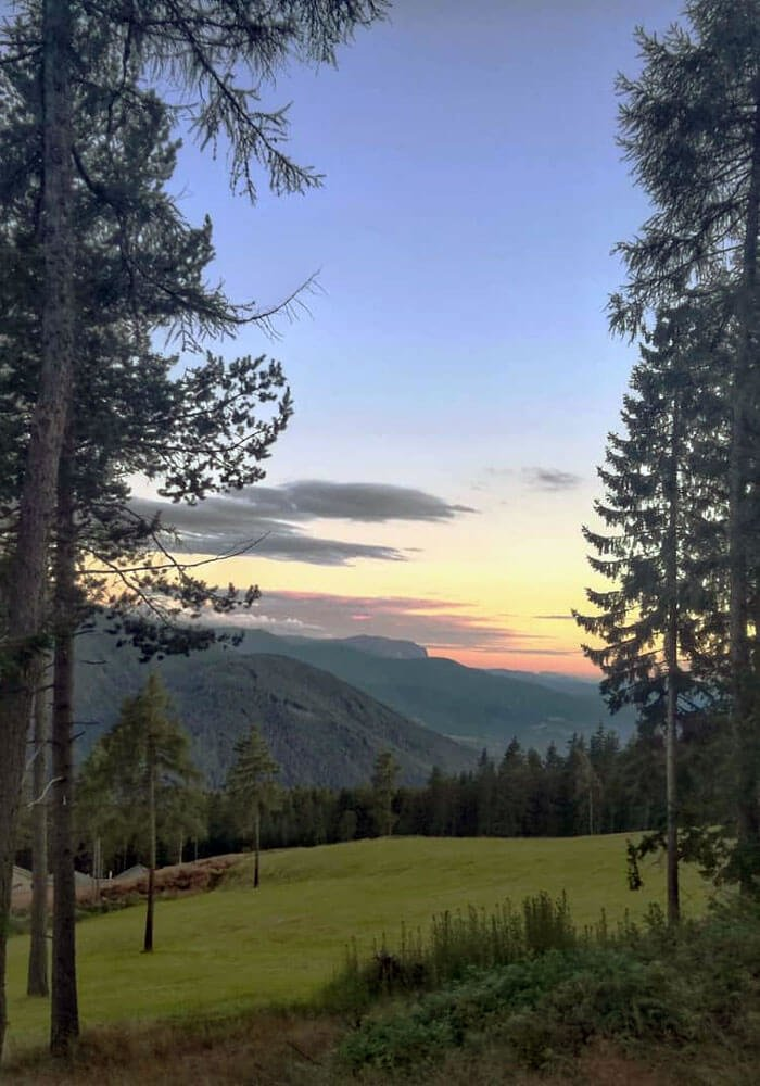 Il rifugio Oberhauserhütte sull'Alpe di Rodengo-Luson