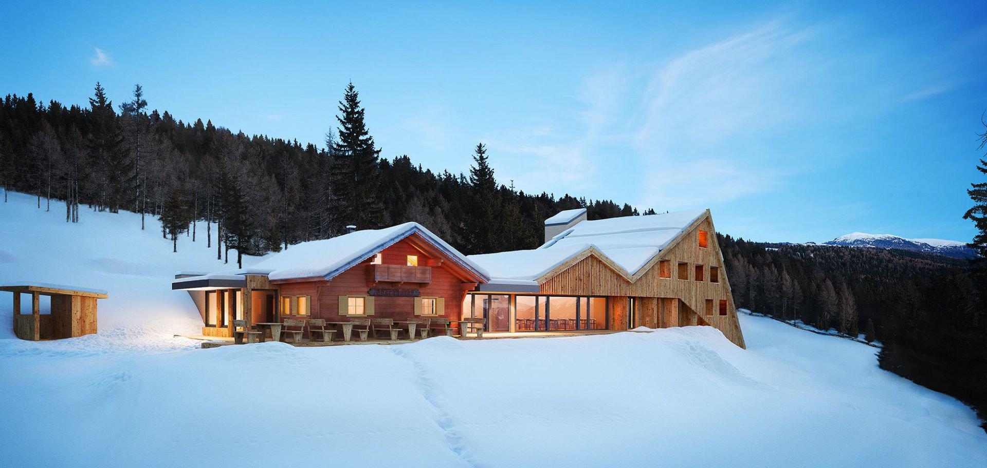 Stressfreier Urlaub im Berghüttenhotel