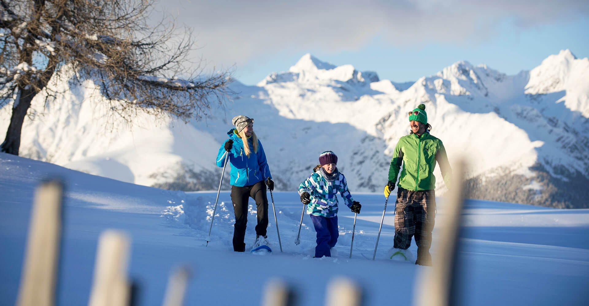 Oberhauserhütte - Winterurlaub auf der Alm in Südtirol