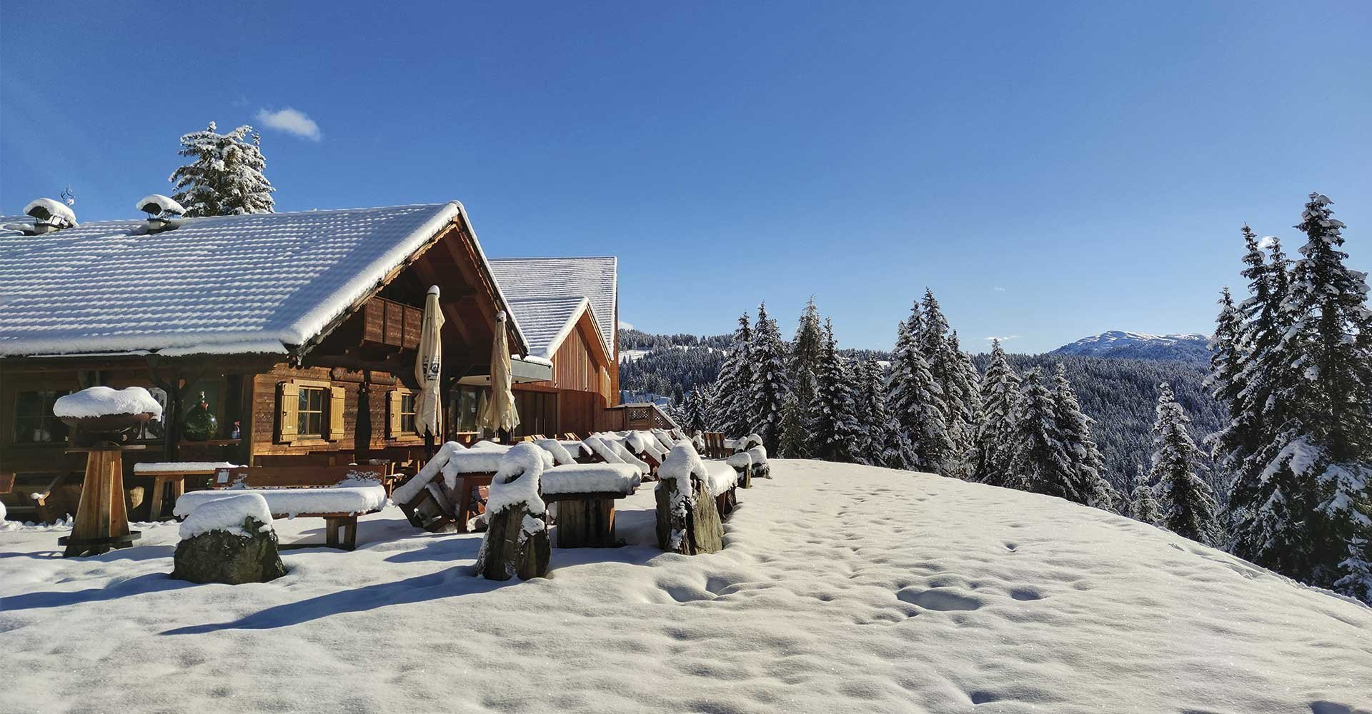 Stress-free vacation in an alpine lodge hotel