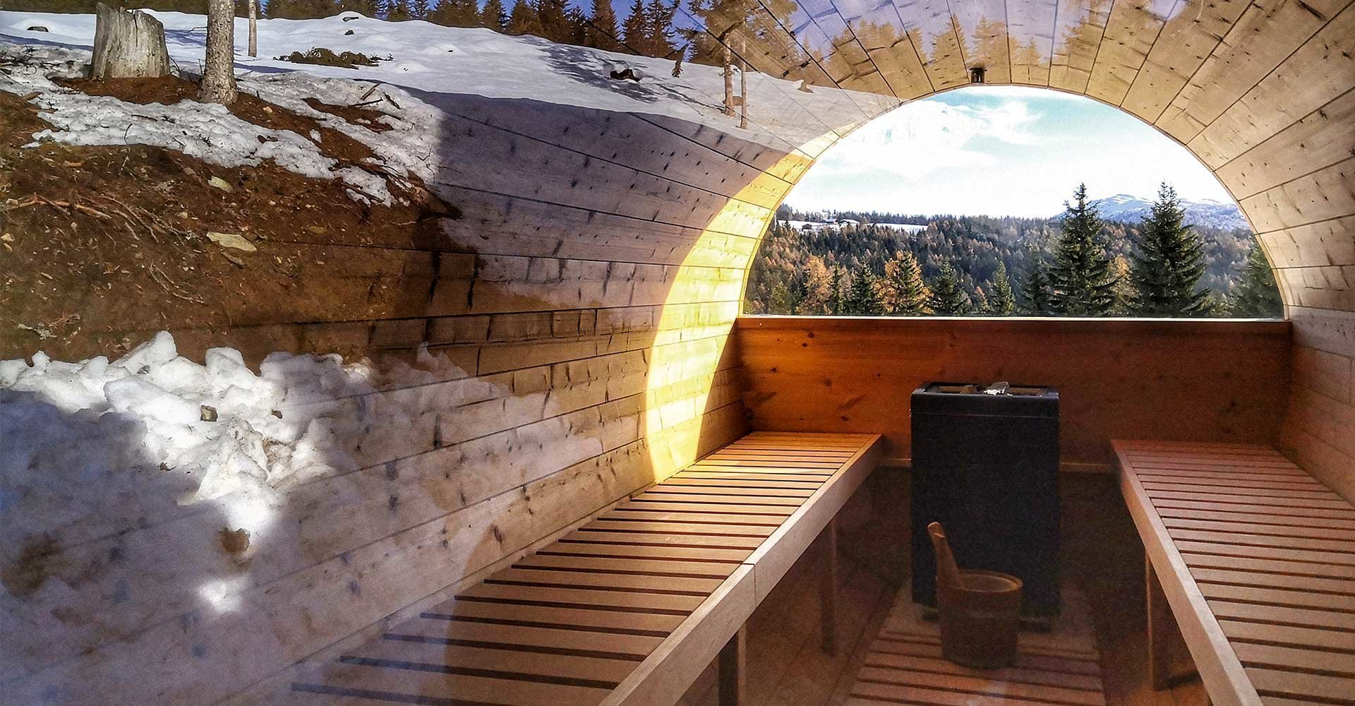 Sauna Alto Adige Südtirol