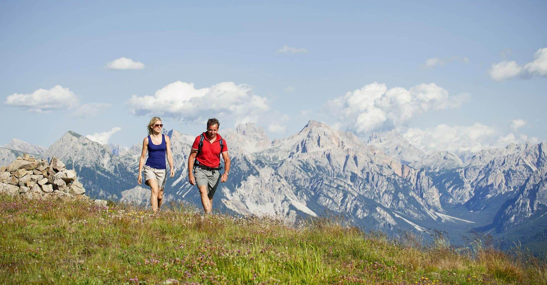 Wandern & Nordic Walking bei Rodeneck