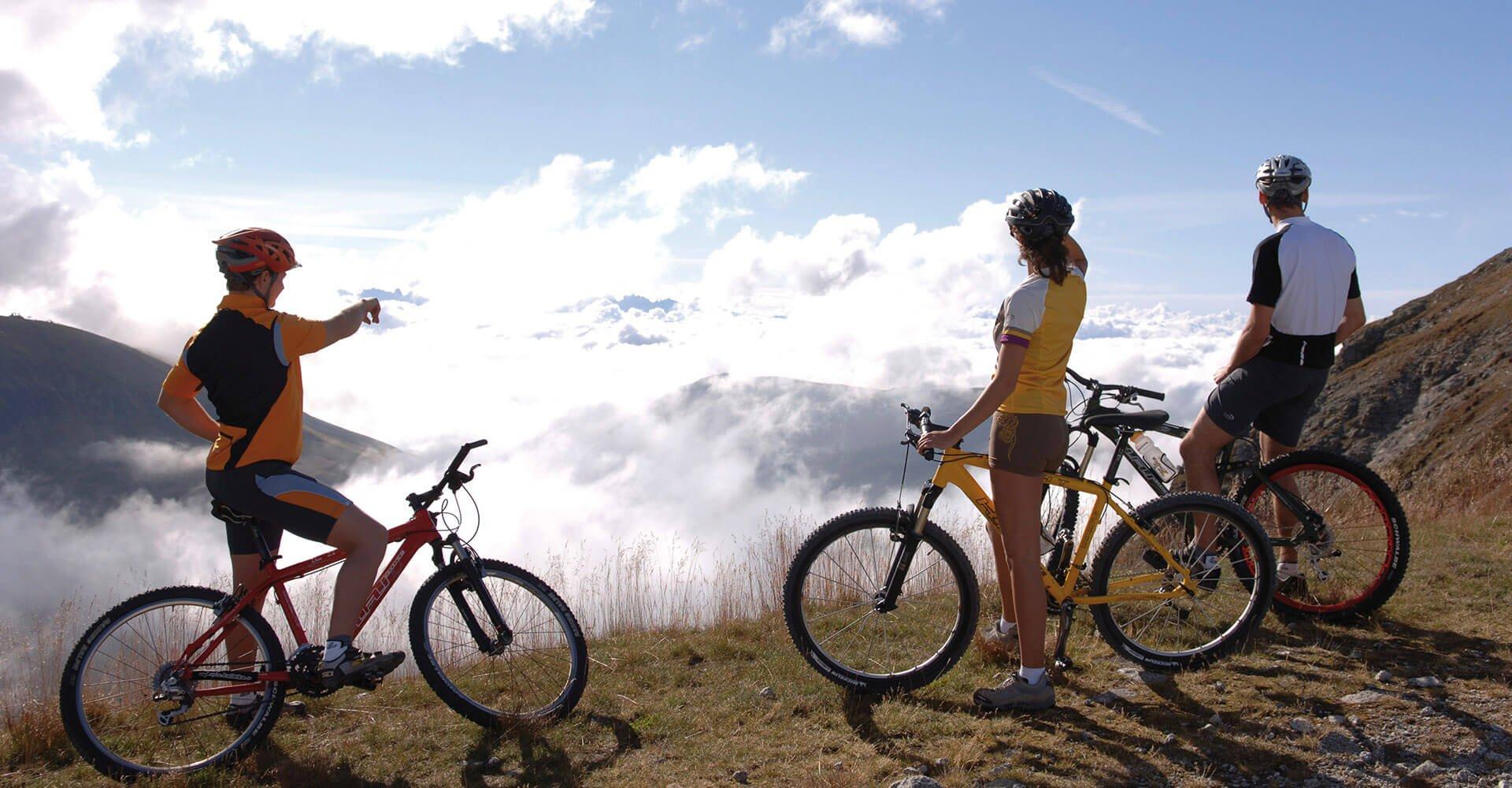 Mountainbiken auf der Alm 2